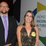 Bráulio Moura e Ana Paula Vilaça, da secretaria de Turismo do Recife