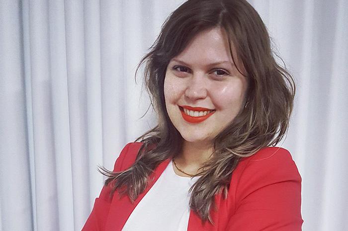 Bruna Lopes, nova gerente geral dos hotéis Mabu Curitiba Business e Mabu Curitiba Express