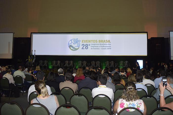 Cerimônia de abertura do Congresso Abeoc
