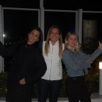 Claudia Crespin (Viagens World), Ana Paula Politano (Politano Viagens) e Bia Meneghesso (Marceline Turismo)