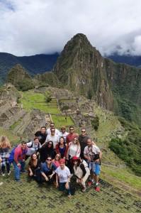 Colaboradores da Abreu em Machu Picchu