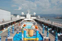 MSC Sinfonia atraca pela primeira vez Itajaí (SC) neste sábado (14); veja fotos do navio
