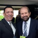 Roberto Sanches, da Sanchat, e Guilherme Paulus