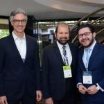 Marco Ferraz da Clia Brasil; Guilherme Paulus; Gilson Lira, secretário de Turismo da Paraíba