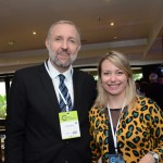 Gustavo Esusy da Avianca Holdings e Thais Jareno da South African Airways