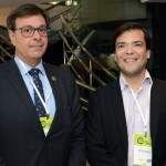 Gilson Machado Neto, presidente da Embratur e Marcelo Bento, da Azul