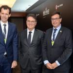 Ronei Glazmann, Vinicius Lummertz e Gilson Machado Neto
