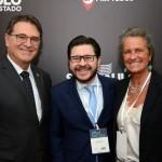 Vinicius Lummertz, Gilson Lira e Mari Masgrau do M&E