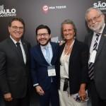 Vinicius Lummertz, Gilson Lira, Mari Masgrau do M&E e Enrique Martin Ambrosio
