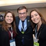 Gilson Machado Neto, presidente da Embratur entre Ana Silva e Roselene Medeiros da Amazonastur