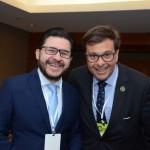 Gilson Lira, secretário de Turismo da Paraíba e Gilson Machado Neto, presidente da Embratur