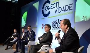 Primeiro painel do Fórum Conectividade abordou desafios e metas da aviação no Brasil