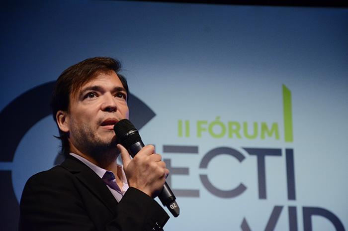 Marcelo Bento, Diretor de Relações Institucionais e Alianças da Azul Linhas Aéreas (Foto: Eric Ribeiro)