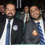Daniel Nepomuceno, do MTur, e Gilberto Castro, presidente da Belotur