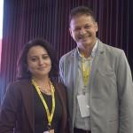 Denise Félix e Márcio Lima, da Fort Eventos