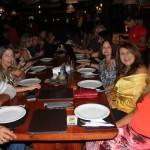 Denison Gomes, da KF Tour; Sandra Darradas, da ACV; Rosa Amélia, da ACV; Vera e Denise Aragão, da Vera Turismo