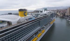 Coronavírus: Costa aumenta precaução a bordo dos navios da frota