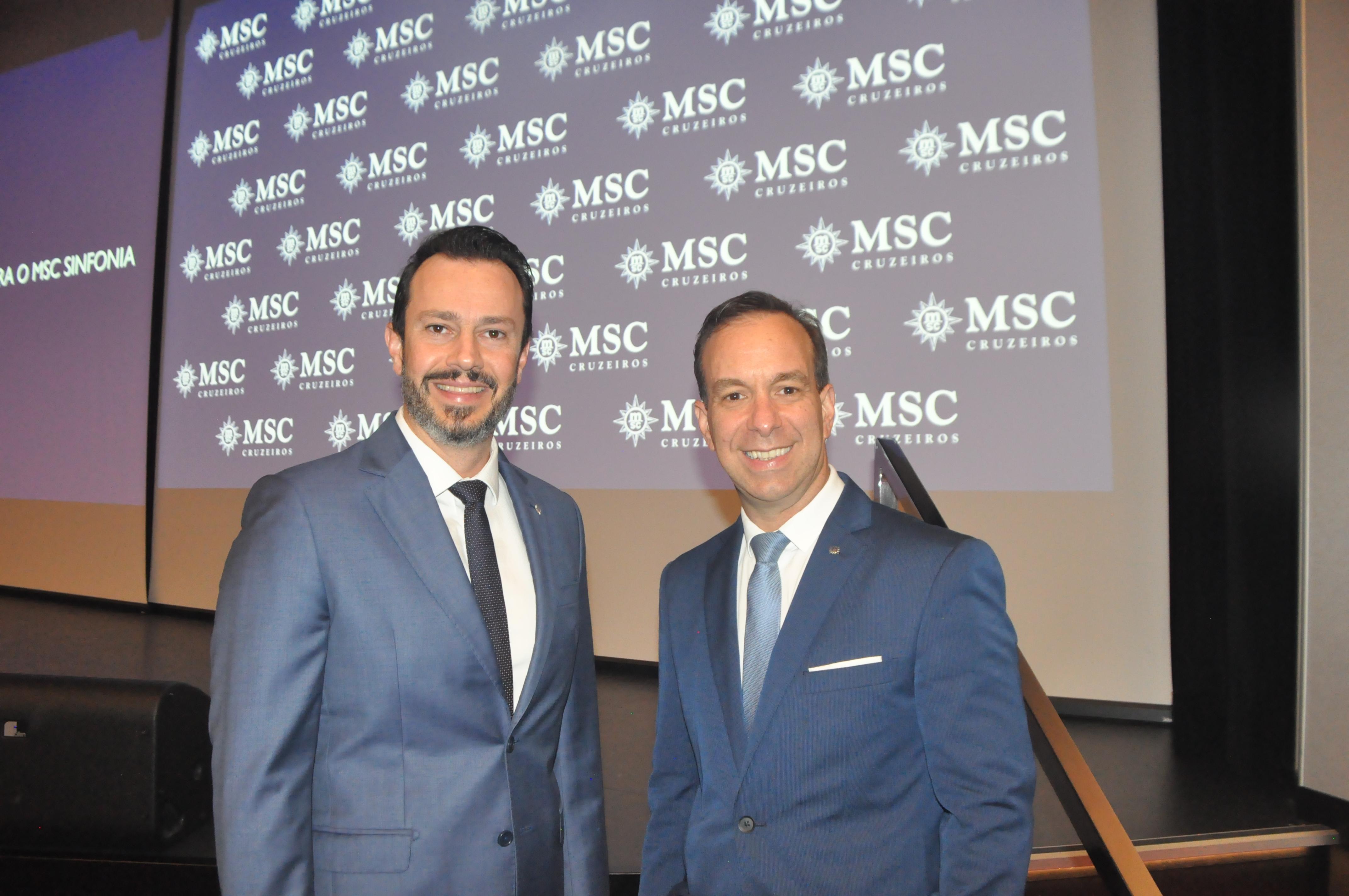Eduardo Mariani e Adrian Ursilli, da MSC
