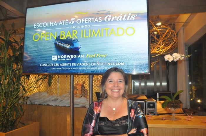 Estela Farina, Diretora da NCL no Brasil