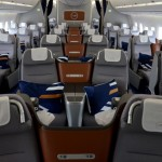 Business class do Airbus A350-900