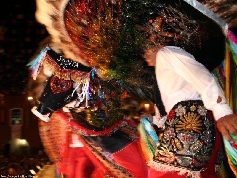 Festa do Bumba Meu Boi no Maranhão. (Foto: Setur/MA)