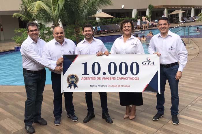 GTA supera marca de 10 mil agentes capacitados em 2019