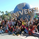 Grupo com 50 agentes do Brasil que participam da viagem organizada pela Universal (1)