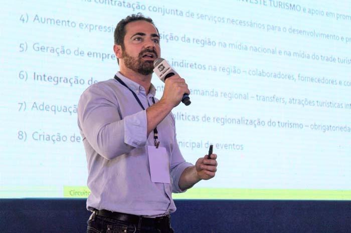 Gustavo Monteiro, secretário Executivo do Circuito Litoral Norte