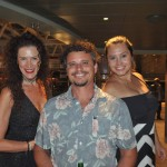Helena Passarelli, Alessandra Gambaroto e Diego Fassina, da Proa Turismo
