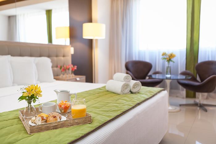 Hotel conta com 144 quartos