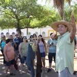 Ao chegar em Corumbá, os agentes de viagem participaram de um sarau que remontava a história da cidade