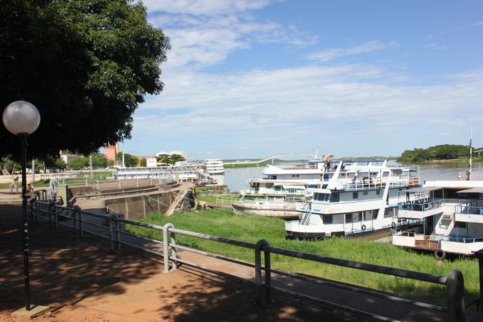 O Porto de Corumbá é o ponto inicial da viagem pelo rio Paraguai
