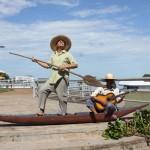 O Sarau é realizada nos principais pontos turísticos e históricos de Corumbá