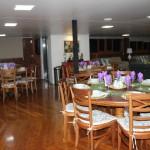 O salão de jantar