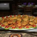 Na segunda noite acontece o jantar do comandante e todos os pratos são feitos com peixes frescos