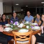 Ricardo Bretas e Fernanda Silva, da Cantos do mundo turismo; José Carlos; Lúcio Xavier, da Transmundi; Alessandra Aleph e Mariana Nogueira da Animara Turismo