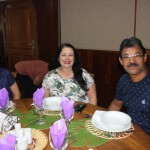 Luiza Marçal, Neide Gouveia e Luiz Gouveia, da LNL Turismo