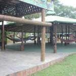 A Fazenda é equipada com restaurante, redes para descanso, além de oferecer os passeios a cavalo, carrosel ou caminhada