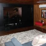 Sala de TV e Cinema do Kayamã