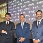 Ignacio Hidalgo, Adrian Ursilli e Eduardo Mariani, da MSC