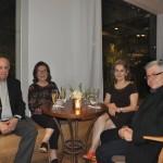 Jaime e Alda Clara Hanna, da Turismo Livre, Rosa Maria e Elie Werdo, da Jatobá Viagens