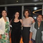 Januaria Barbieri, da MSC, Luciana Costa e Denise Machado, da Clube Turismo e Maria do Carmo Machado