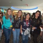 Jessica Morales (Magic Tour), Christiane Benfatti (Chris Roteiros), Ana Politano (Politano Viagens), Silze Exposto (Sig Tur Viagens), Claudia Crespin (Viagens World) e Bia Meneghesso (Marceline Turismo)