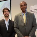 João Pita, do GRU Airport, e Luis Sobrinho, da Setur-SP