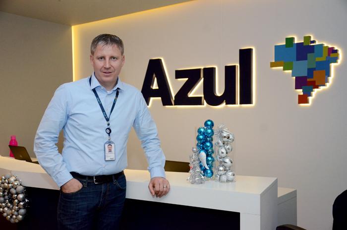 John Rodgerson, CEO da Azul Linhas Aéreas (Foto: Eric Ribeiro)