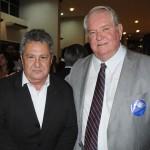 José Eugênio Aguiar, presidente do Sindetur-MG, e Roy Taylor, do M&E