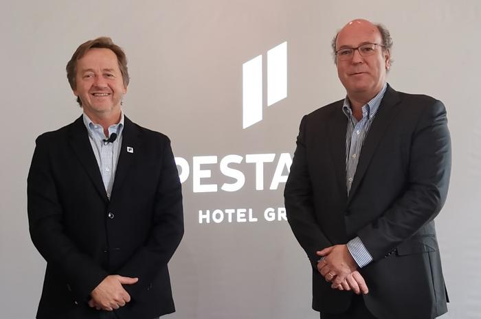 José Roquette, Chief Development Officer, e José Theotónio, CEO, ambos do Pestana Hotel Group