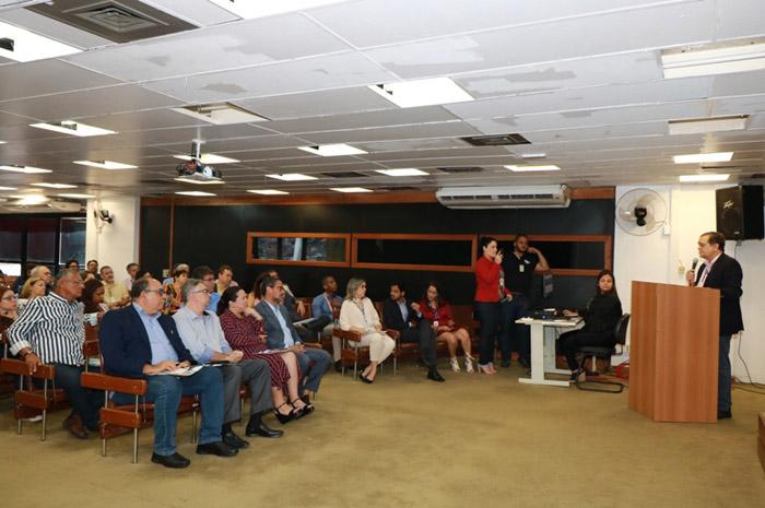 Lançamento do Boletim de Análise Conjuntural do Turismo na Bahia (Foto: Tatiana Azeviche)