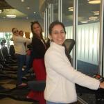 Larissa Pacheco (Fly Word), Thaísa Melo (Alta Estação Turismo), Tiana Lopes (BWT Operadora) e Regiane Maciel (Viatori Tur)