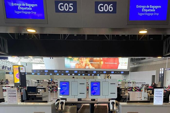 Latam implementa serviço de autoatendimento para despacho de bagagem